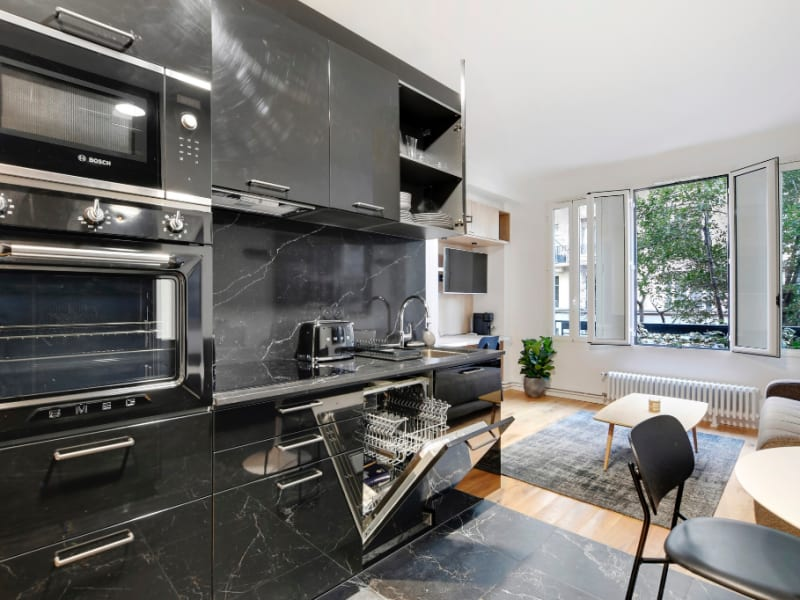 Rental apartment Paris 17ème 1250€ CC - Picture 7