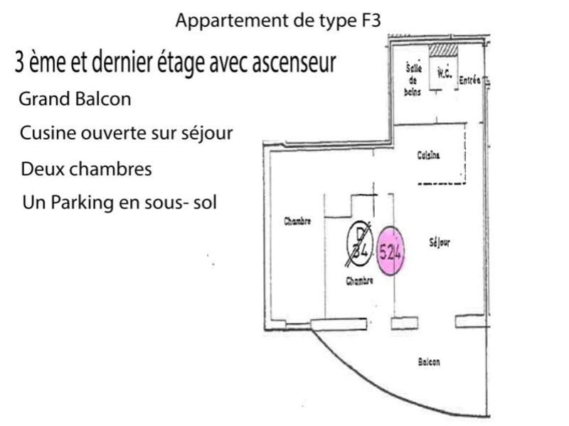 Vente appartement Strasbourg 140000€ - Photo 2