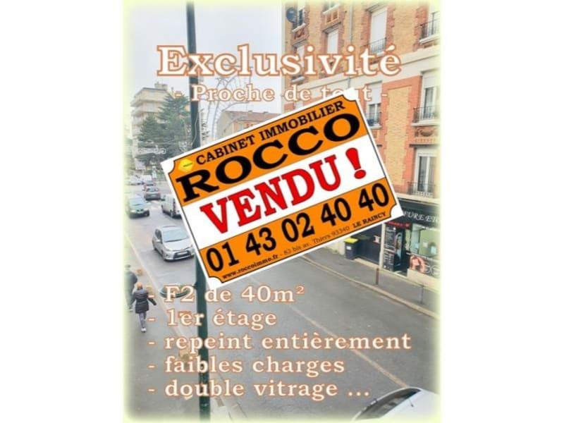 Sale apartment Le raincy 160000€ - Picture 1