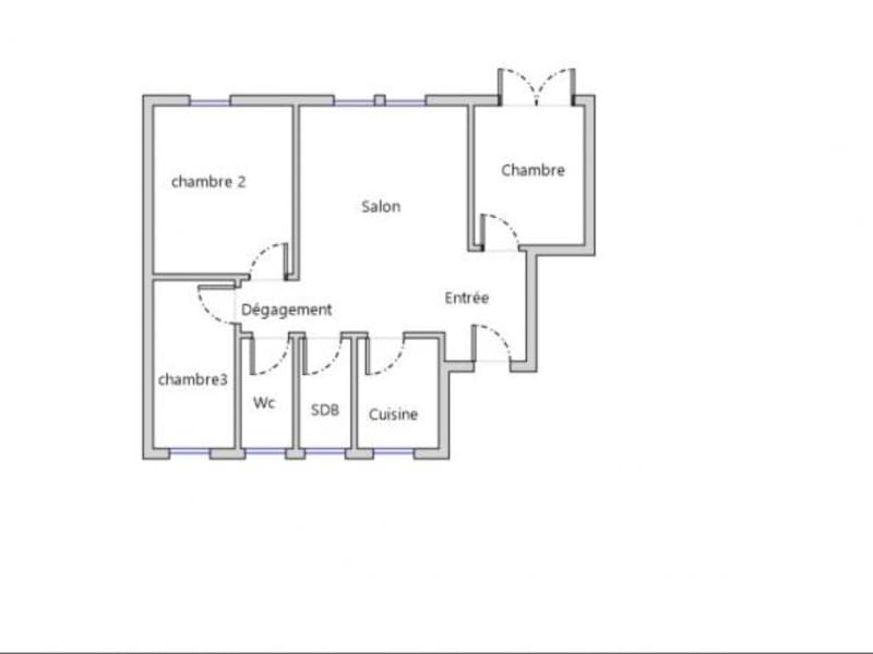 Sale apartment Metz 120000€ - Picture 8