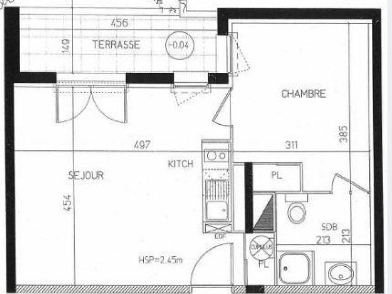 Sale apartment Toulouse 119000€ - Picture 8