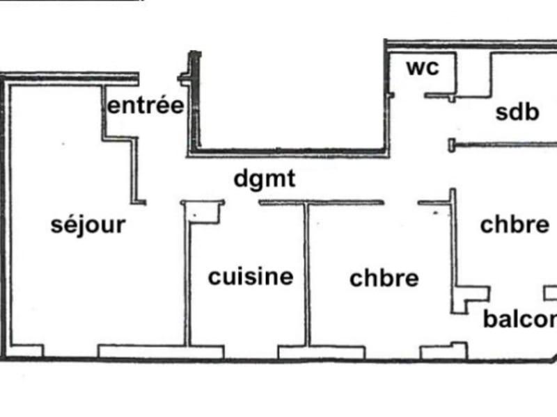 Vente appartement Strasbourg 192600€ - Photo 2