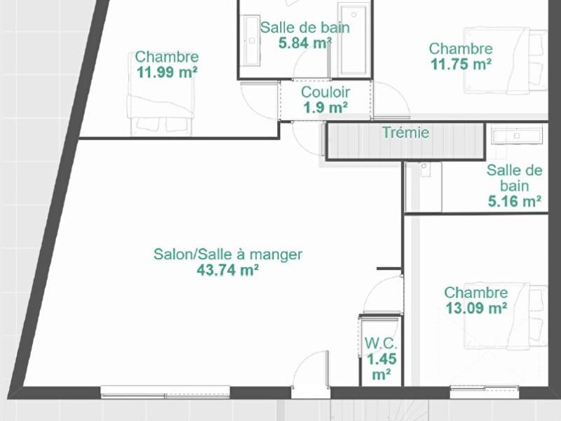 Sale house / villa Murviel les beziers 194000€ - Picture 4