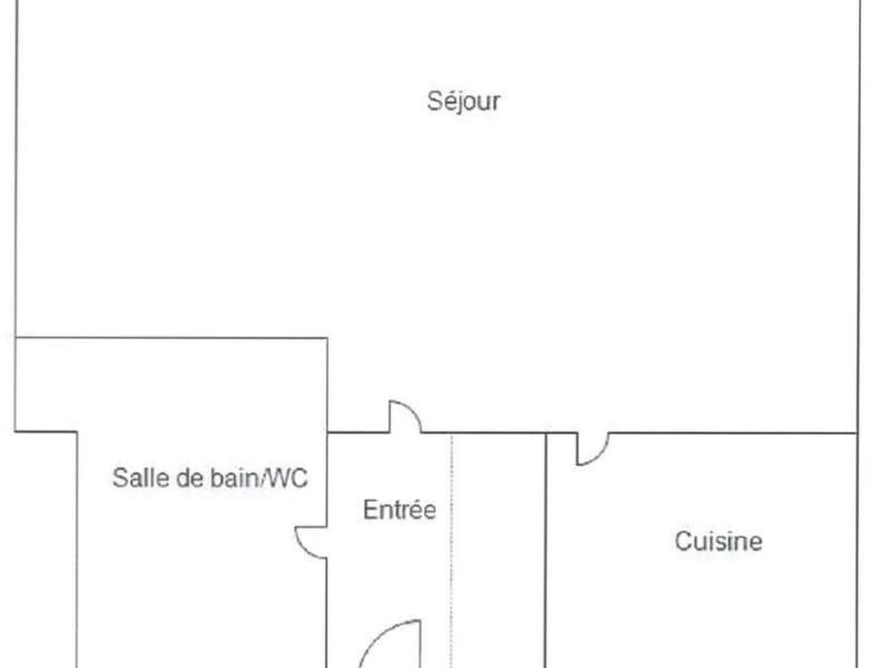 出租 公寓 Paris 13ème 932€ CC - 照片 9
