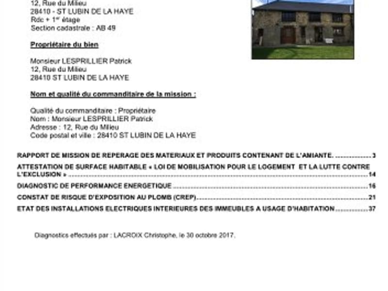 Rental house / villa St lubin de la haye 1265€ CC - Picture 10