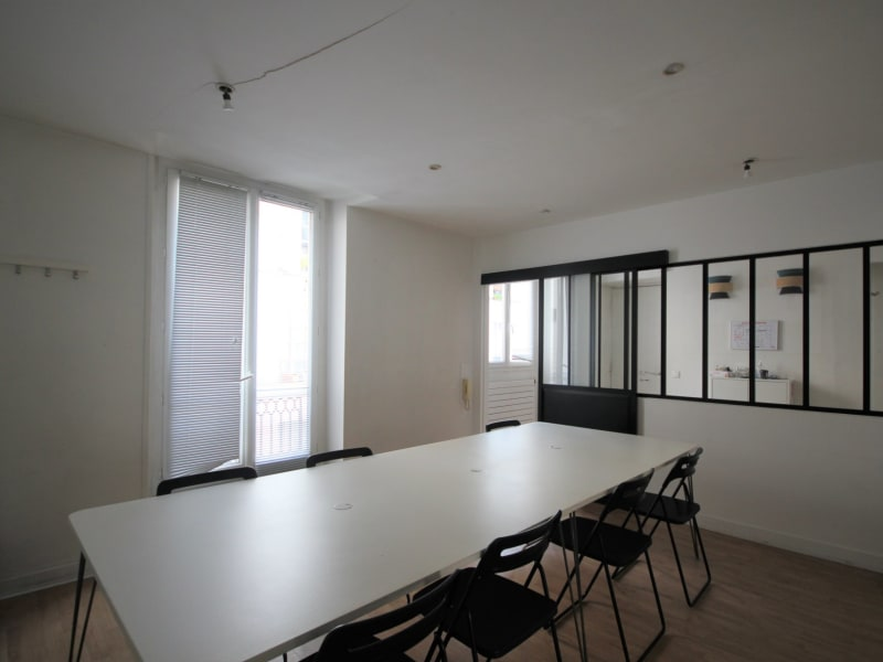 Rental office Paris 3ème 7000€ CC - Picture 2