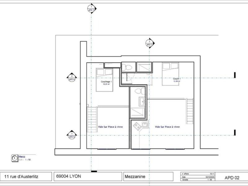 Verkoop  appartement Lyon 4ème 235000€ - Foto 3