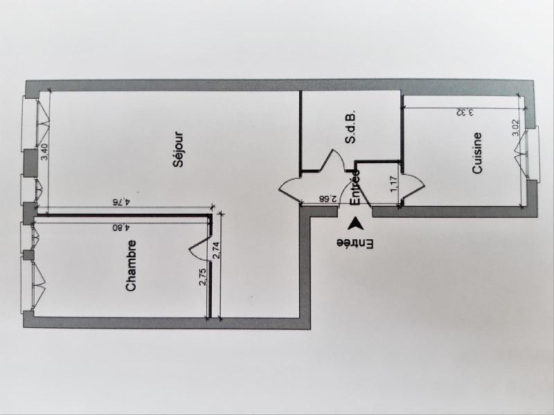 Location appartement Grenoble 692€ CC - Photo 7