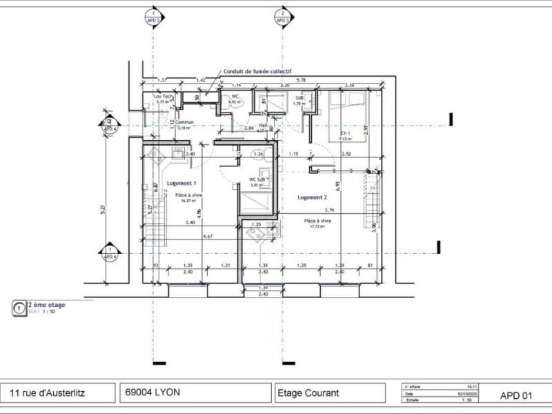 Sale apartment Lyon 4ème 275000€ - Picture 3