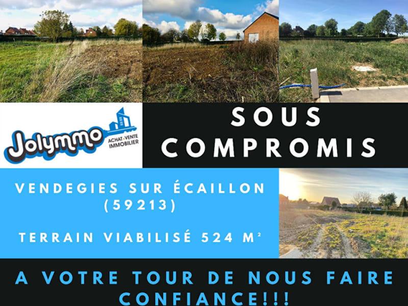Vente terrain Vendegies sur ecaillon 70000€ - Photo 1