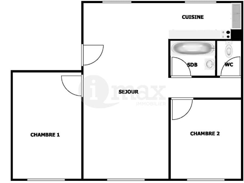 Sale apartment Clichy 319000€ - Picture 6
