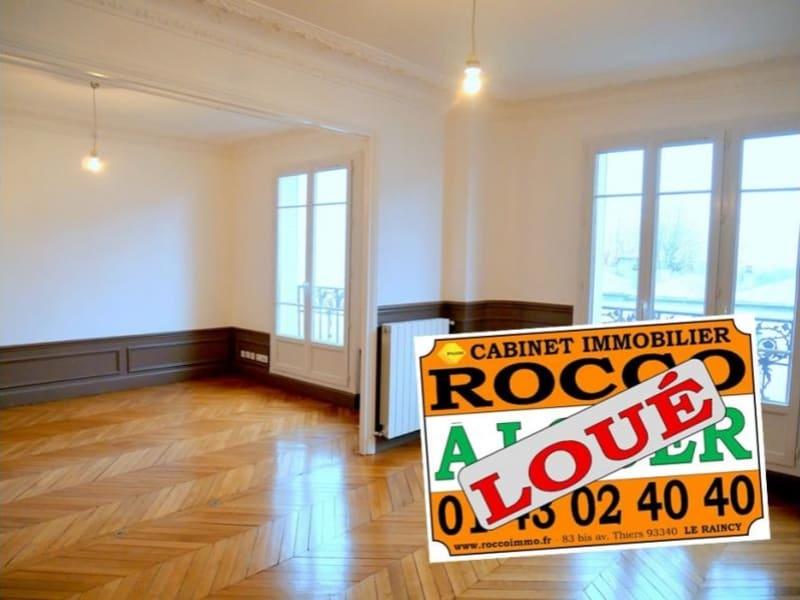 Rental apartment Le raincy 1300€ CC - Picture 1