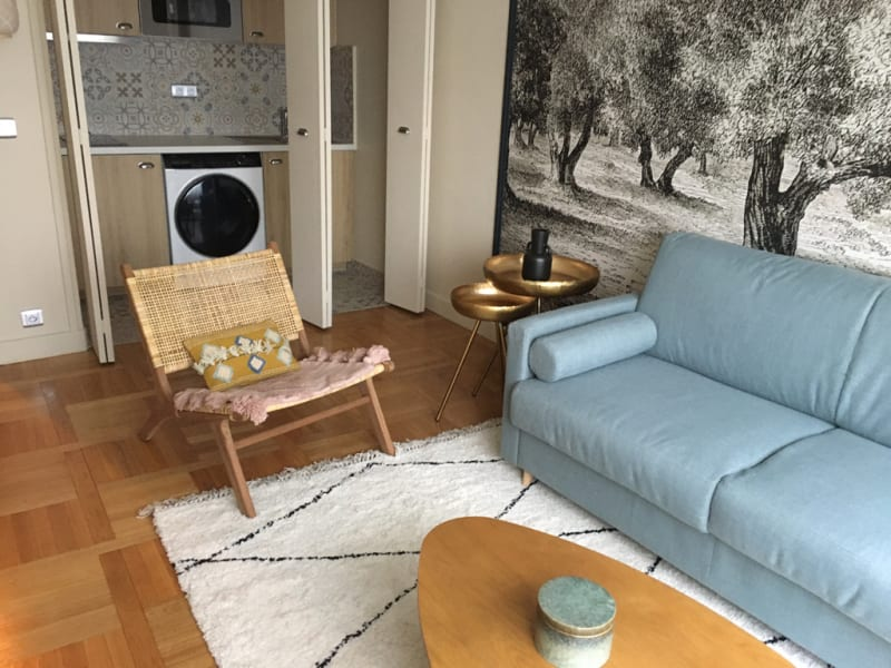 Rental apartment Paris 16ème 890€ CC - Picture 5