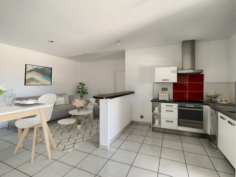 Rental apartment Saint pierre 890€ CC - Picture 2