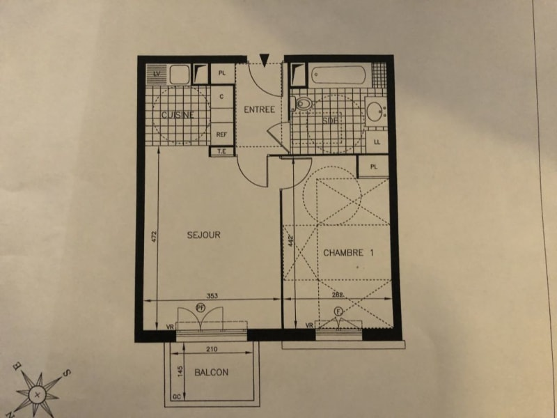 Vente appartement Claye souilly 209000€ - Photo 7
