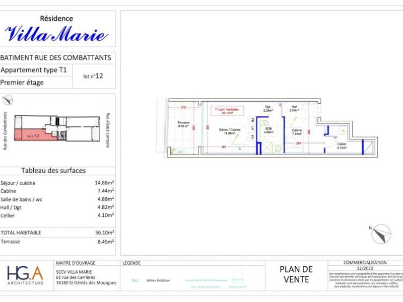 Deluxe sale apartment Le grau du roi 177000€ - Picture 4