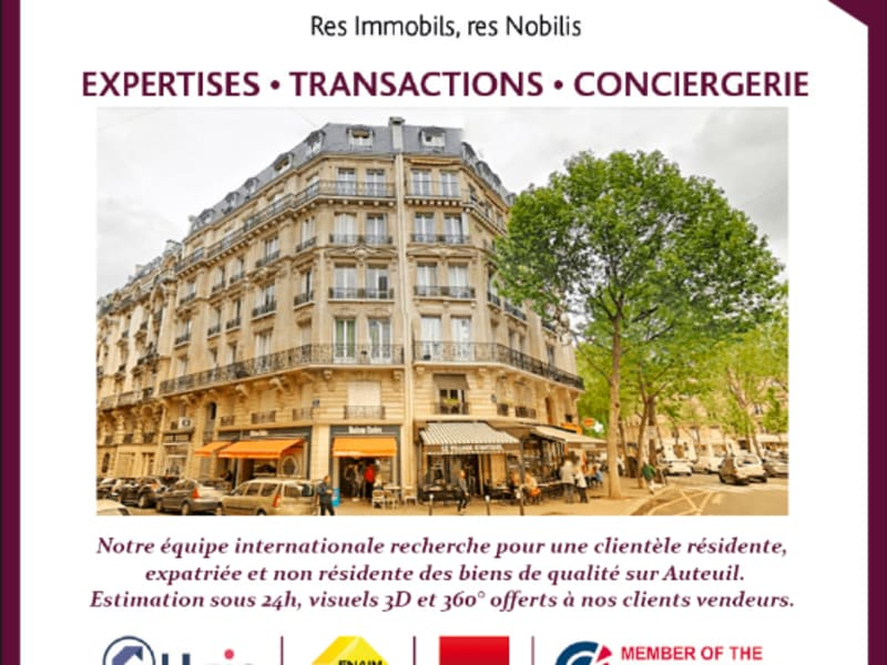 Venta  apartamento Paris 16ème 377000€ - Fotografía 18
