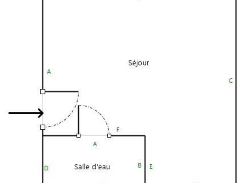 Sale apartment Paris 17ème 174000€ - Picture 3