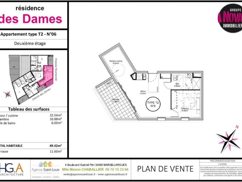 Venta  apartamento Marsillargues 157000€ - Fotografía 4