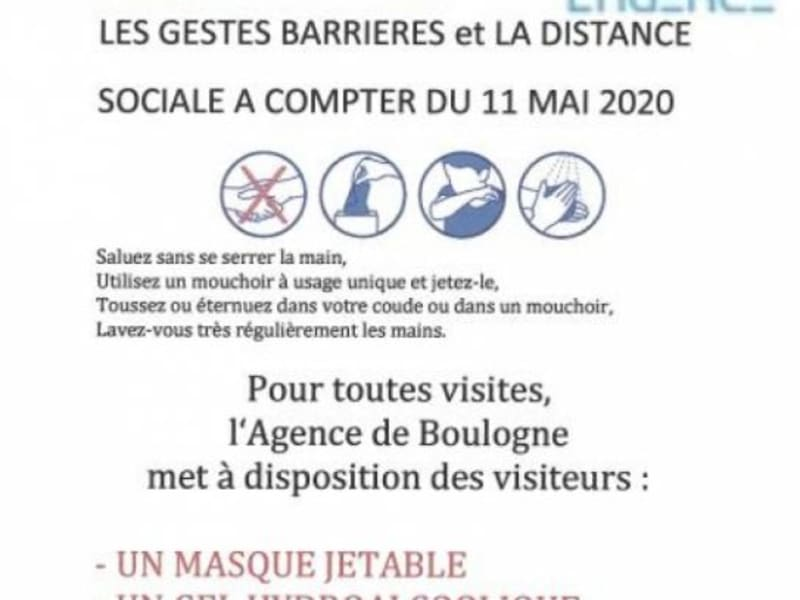 Location local commercial Boulogne billancourt 2991,67€ HC - Photo 5