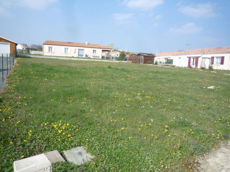 Vente terrain Pamproux 23400€ - Photo 2