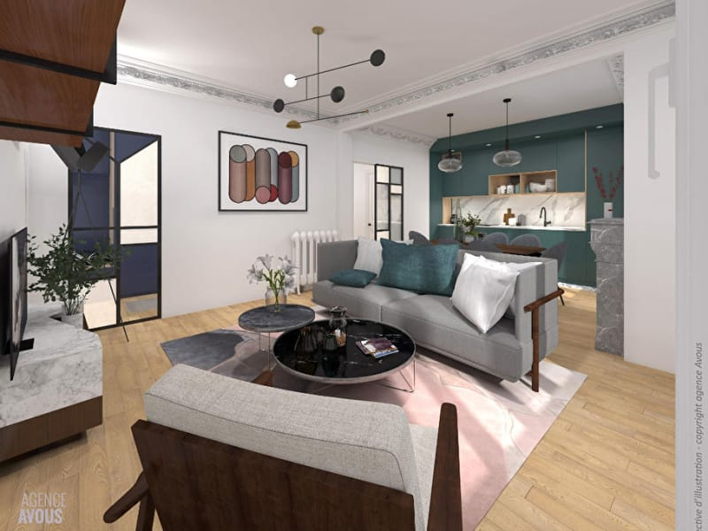 Sale apartment Vanves 629000€ - Picture 5
