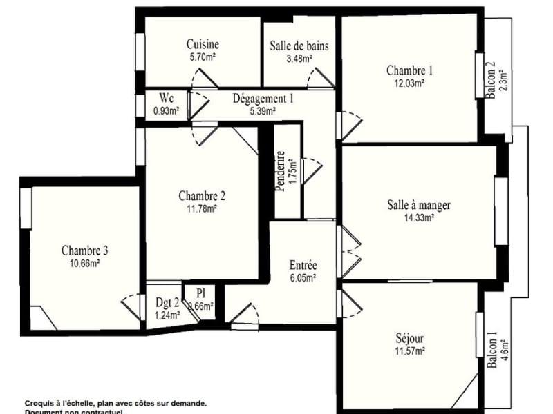 Sale apartment Vanves 629000€ - Picture 14
