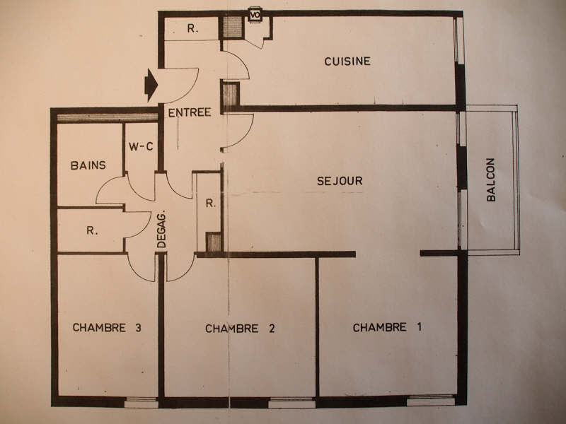 Sale apartment Conflans ste honorine 269500€ - Picture 17