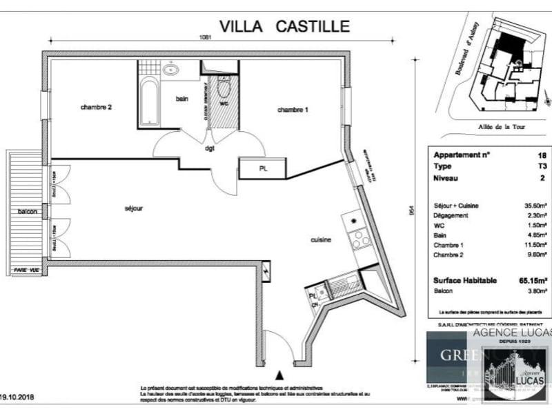 Location appartement Villemomble 1195€ CC - Photo 2