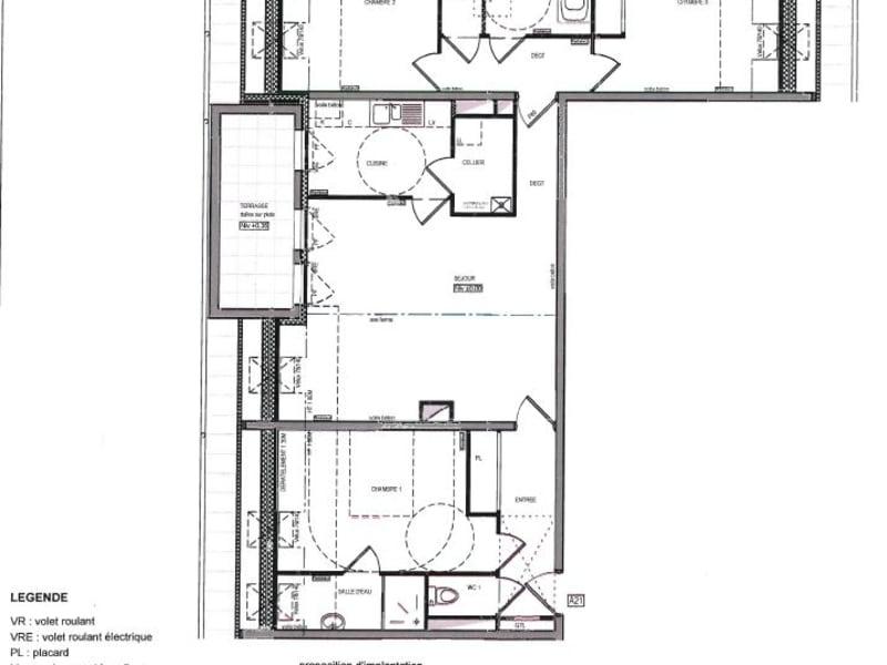 Sale apartment Bruz 377775€ - Picture 10