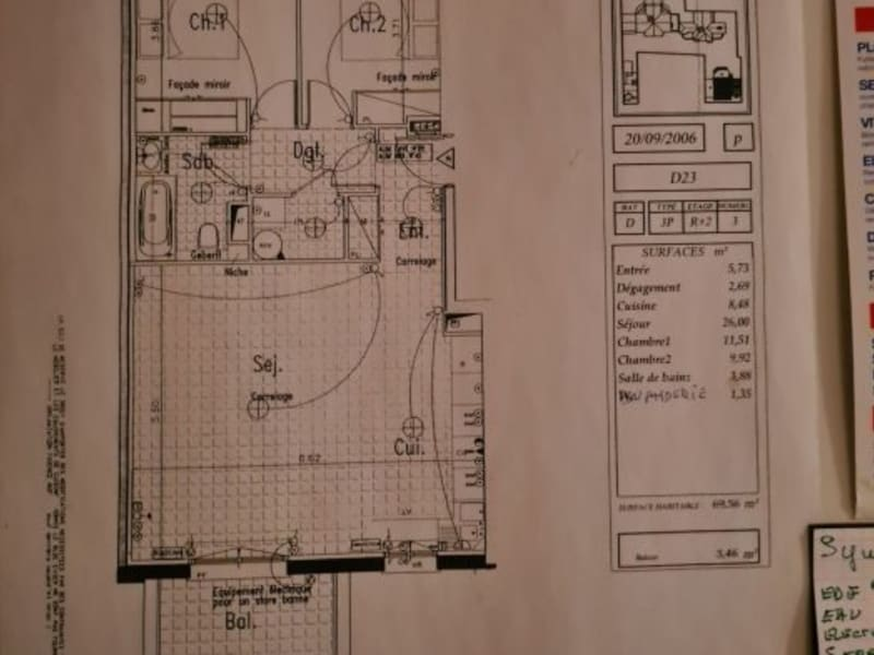 Vente appartement Le plessis-robinson 436000€ - Photo 10