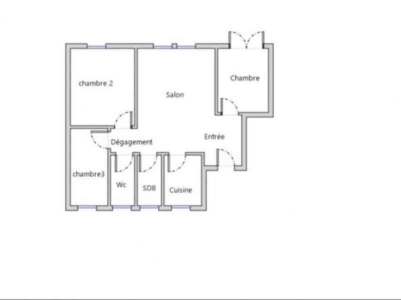 Vente appartement Metz 120000€ - Photo 8
