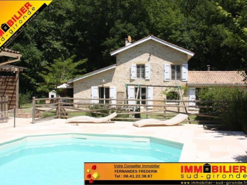 Sale house / villa Podensac 460000€ - Picture 1