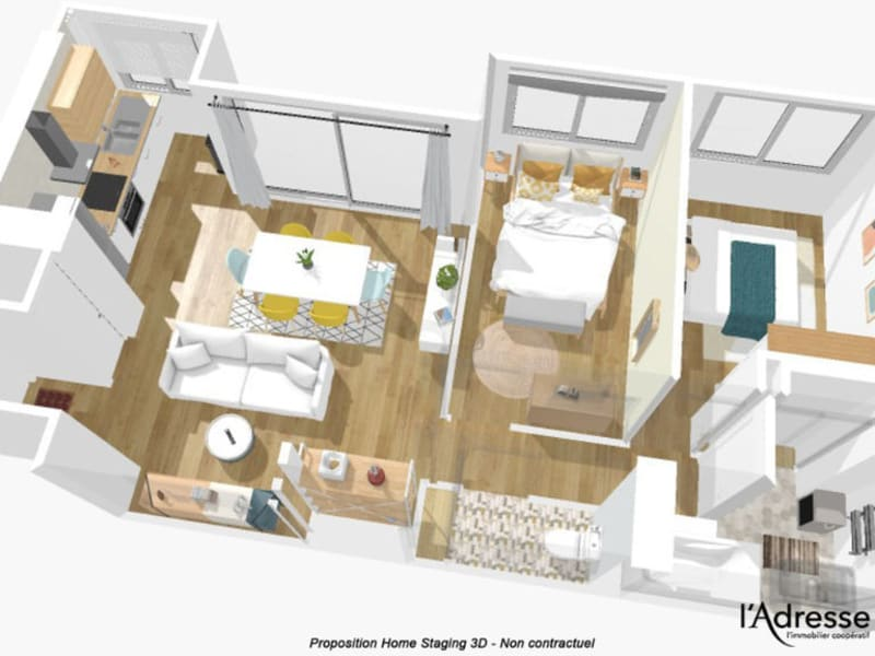 Sale apartment Marly le roi 161000€ - Picture 13
