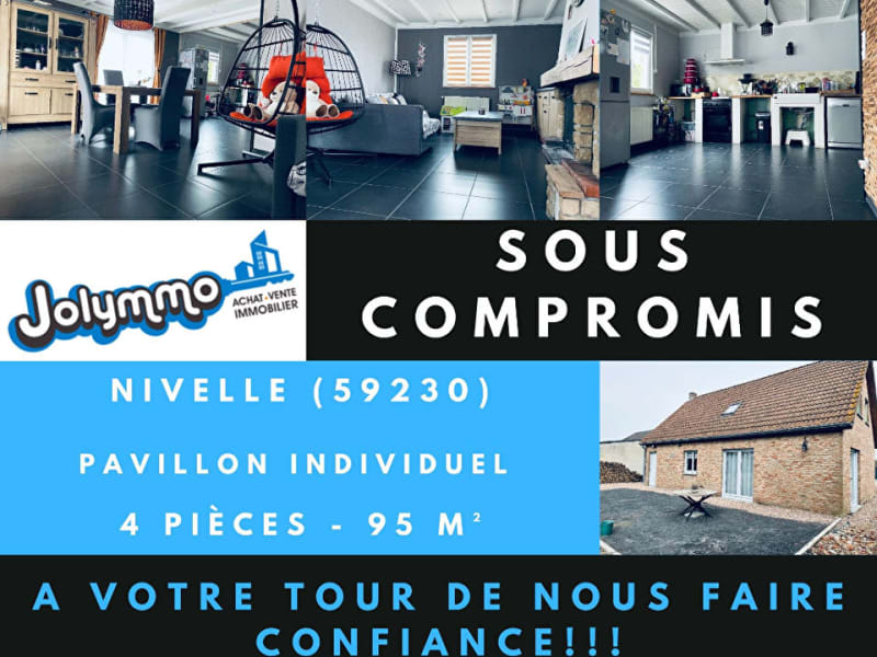 Vente maison / villa Nivelle 239000€ - Photo 1
