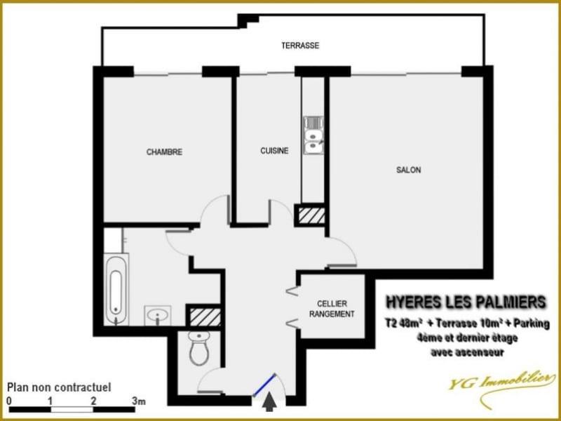 Vente appartement Hyeres 169000€ - Photo 2