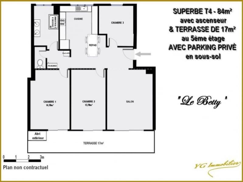 Vente de prestige appartement Toulon 179000€ - Photo 2