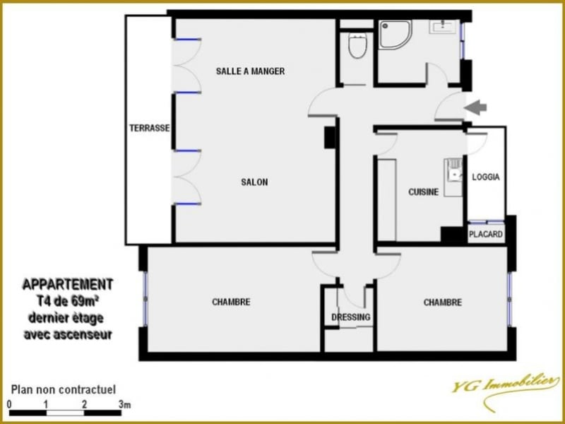 Sale apartment Toulon 117000€ - Picture 2