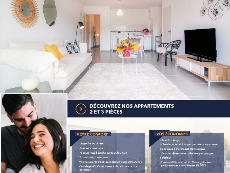 New home sale apartment Sete  - Picture 5