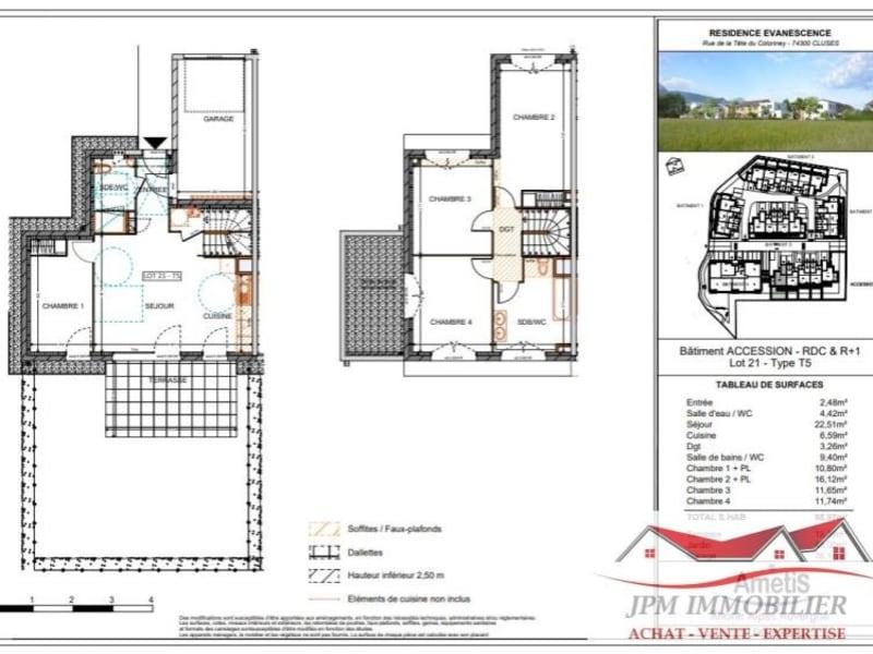 Sale house / villa Cluses 303000€ - Picture 2