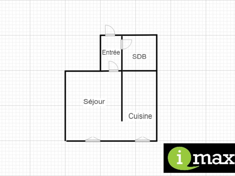 Sale apartment Paris 18ème 235000€ - Picture 2