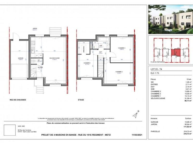 Vente maison / villa Metz 266700€ - Photo 2