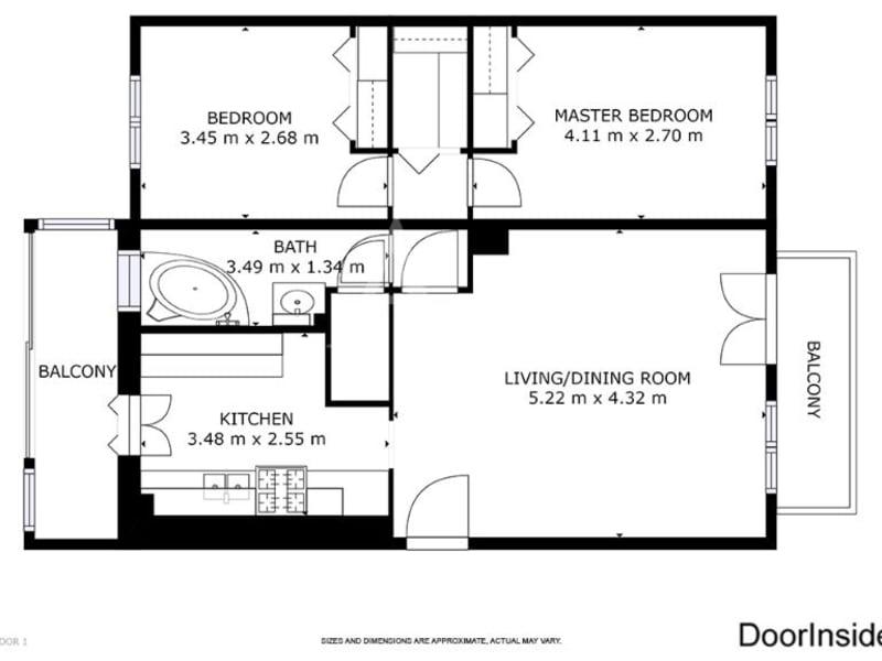 Sale apartment Colomiers 138000€ - Picture 14