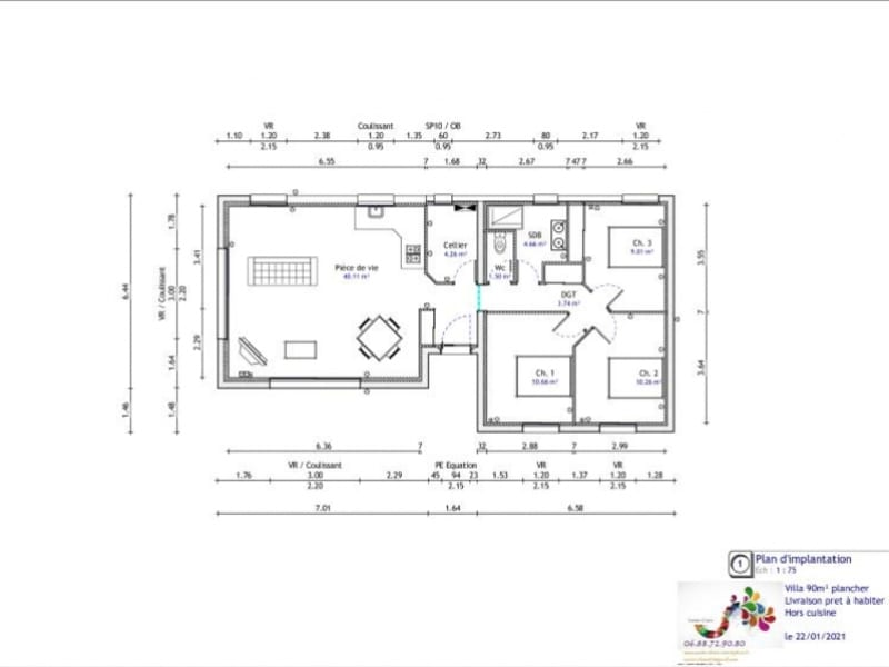 Vente maison / villa Flassans sur issole 289900€ - Photo 1
