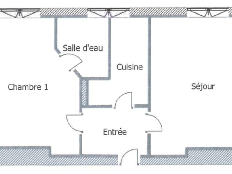 Rental apartment Paris 17ème 1010€ CC - Picture 10