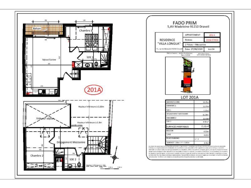 Vente appartement Draveil 309000€ - Photo 2