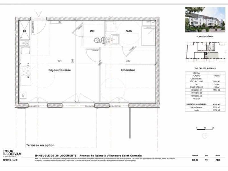 Sale apartment Soissons 103319€ - Picture 2