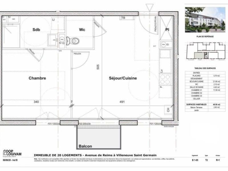 Vente appartement Soissons 99808€ - Photo 2