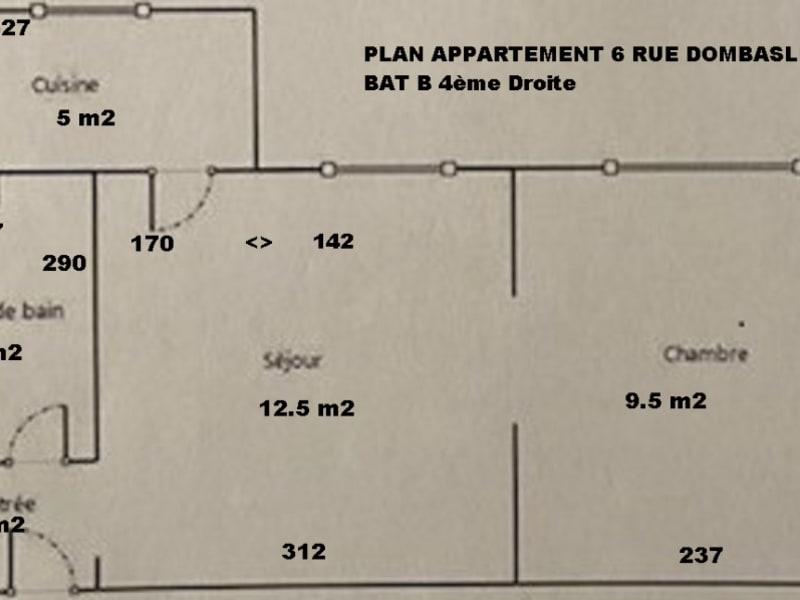 Venta  apartamento Paris 15ème 399000€ - Fotografía 3