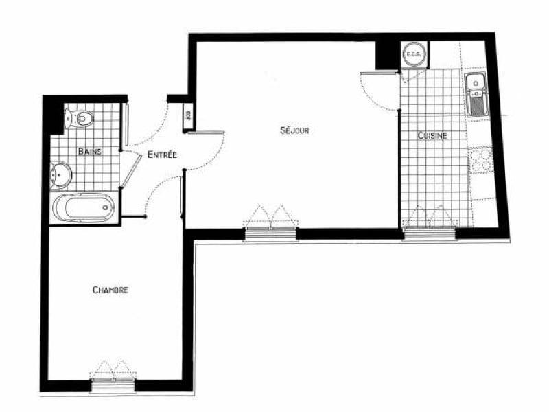 Location appartement Villebon sur yvette 774€ CC - Photo 5